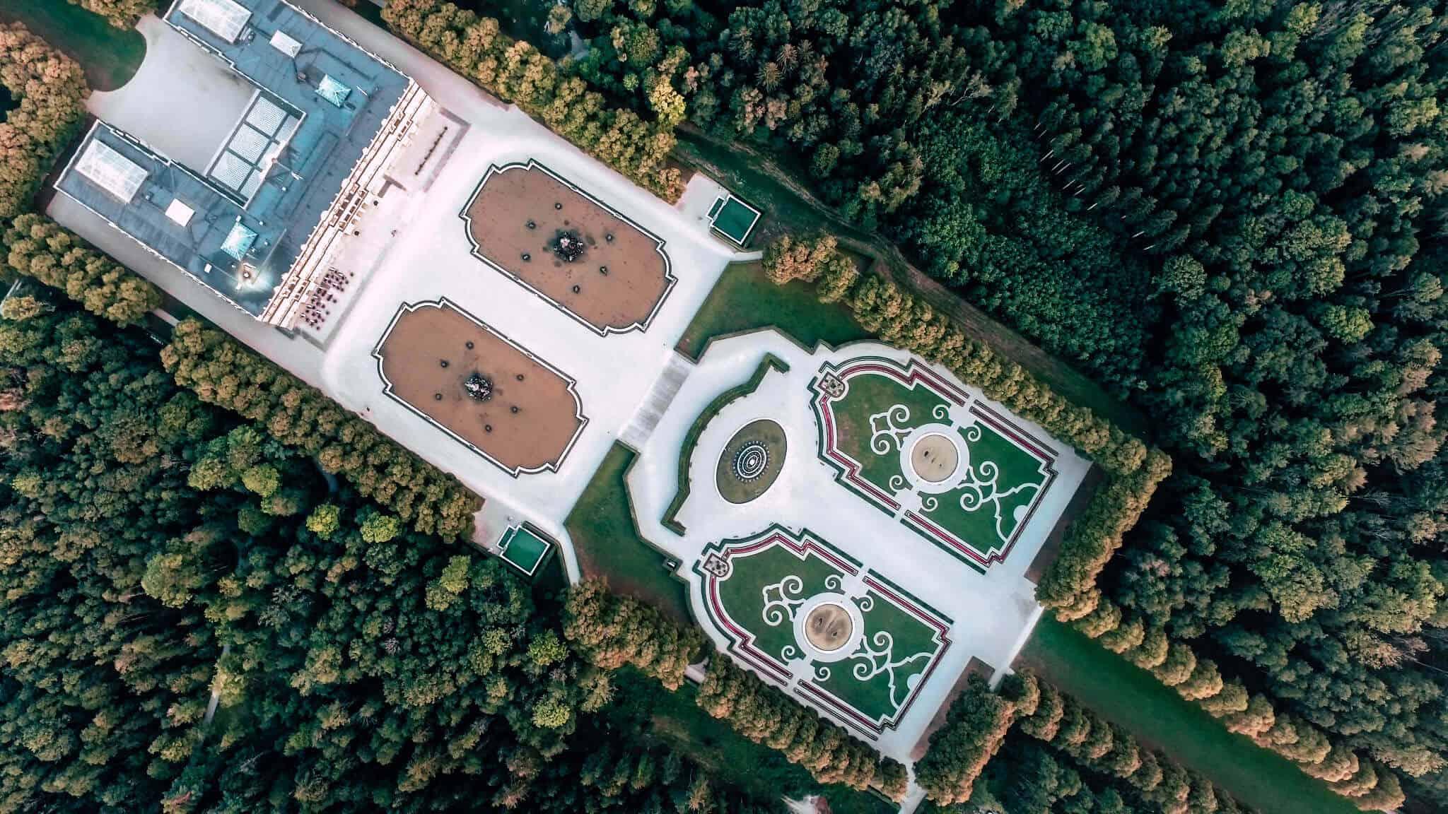 Prien Tourismus Luftaufnahmen