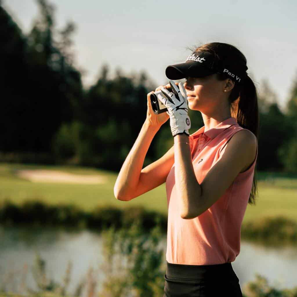 Golf Shooting Fotografie Model Chiemgau