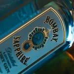 Detailaufnahme von Bombay Sapphire Gin Flasche, Commercial, Werbefilm, WINGMEN Media