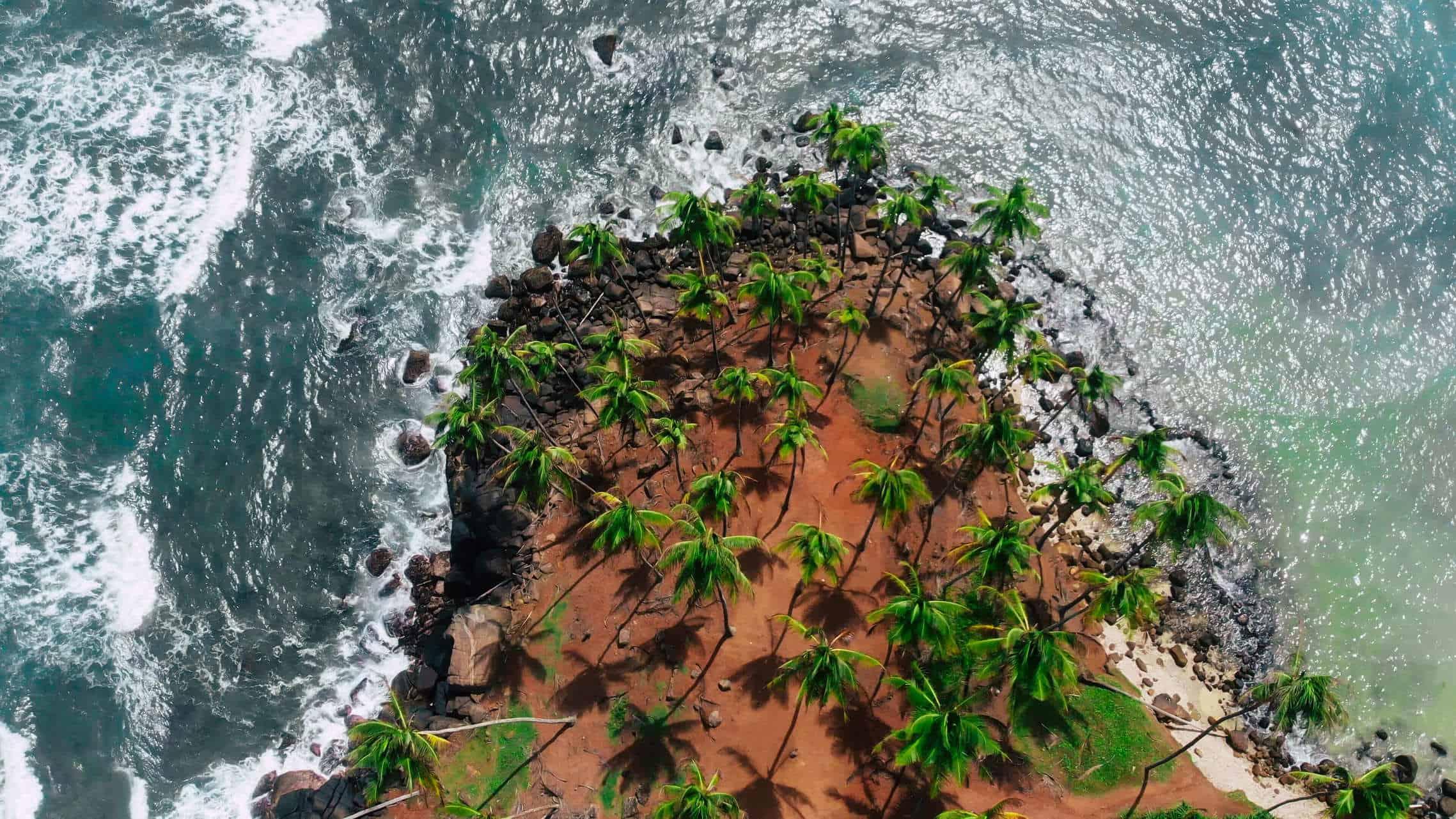 Luftaufnahme Srilanka