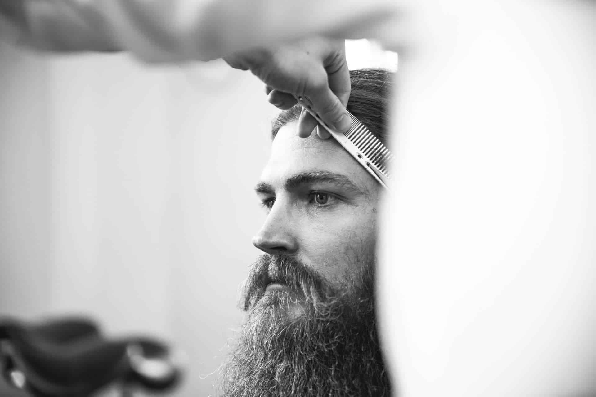 Steinzeit Barber Shop Image Fotografie
