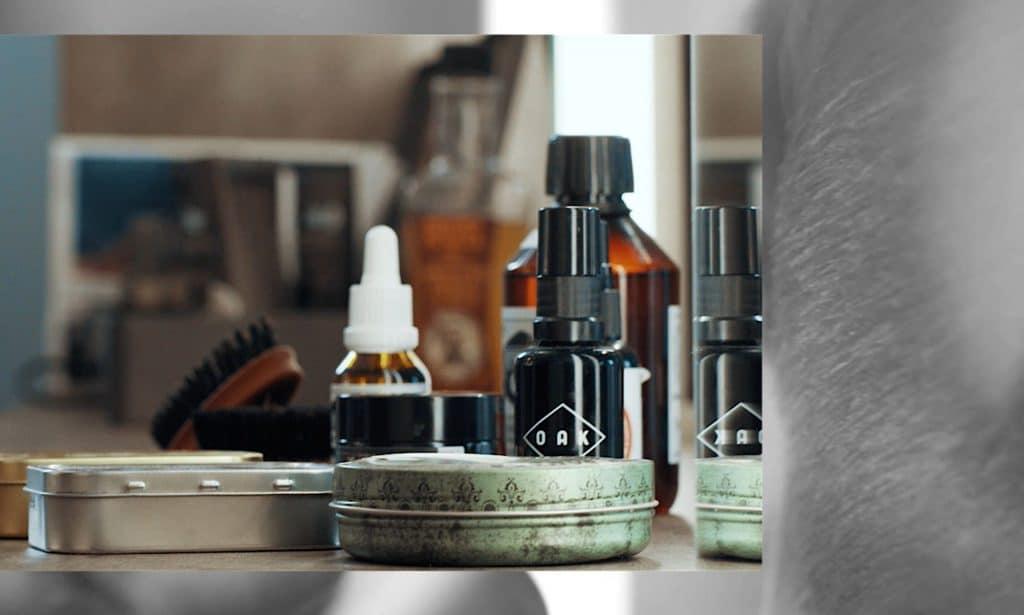 Produkte in einem Barbershop, Qualität, Barber, steinzeit für haare, Recruitingfilm, WINGMEN Media
